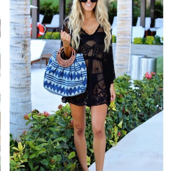 La Vie 89 Other - Swimsuit Cover up/Tunic Crochet Lace